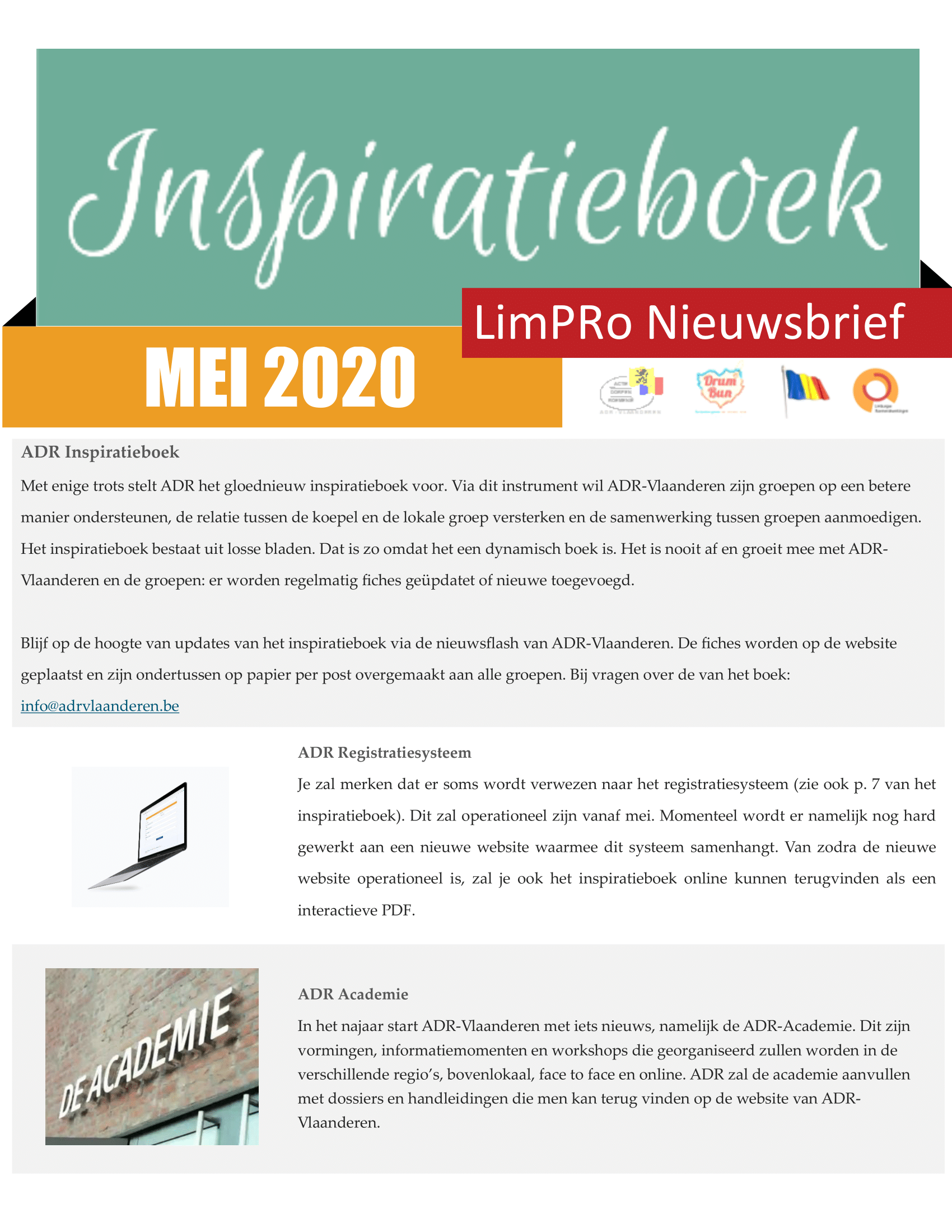 Mei newsletter preview